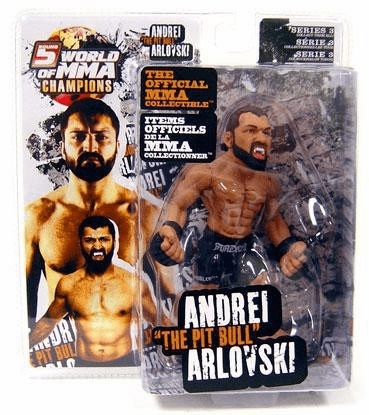 World of MMA Champions 3 Andrei Arlovski Figure
