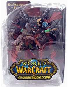 World of Warcraft Brink Spannercrank vs Kobold Snaggle Figures
