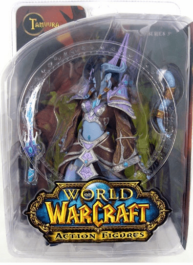 World of Warcraft Dranei Mage Tamuura Figure