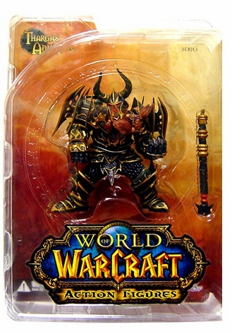 World of Warcraft Dwarf Warrior Thargas Anvilmar Figure