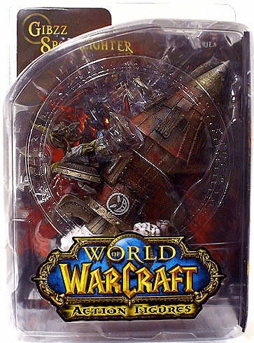 World of Warcraft Goblin Tinker Gibzz Sparklighter Figure
