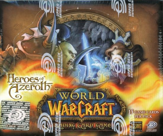 World of Warcraft Heroes of Azeroth Sealed Booster Box