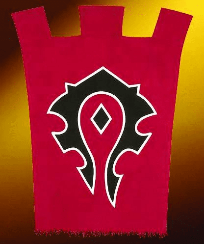 World of Warcraft Horde War Banner