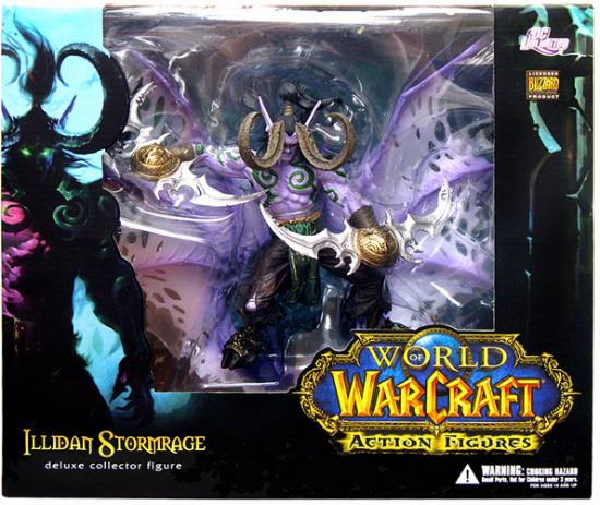 World of Warcraft Illidan Stormrage Deluxe Figure