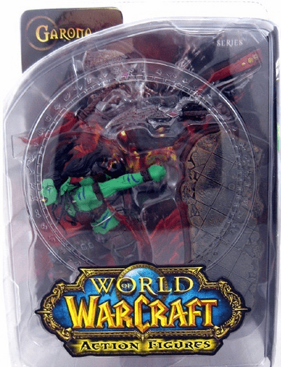 World of Warcraft Orc Rogue Garona Action Figure