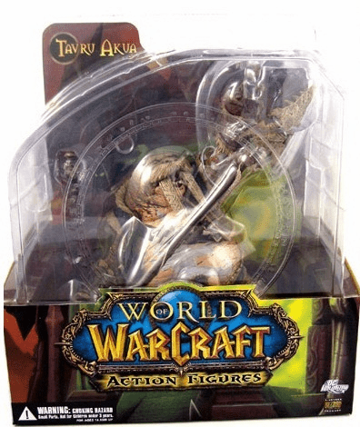World of Warcraft Premium Series 1 Tuskarr Tavru Akua Figure