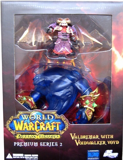 World of Warcraft Premium Series 2 Gnome Warlock Box Set