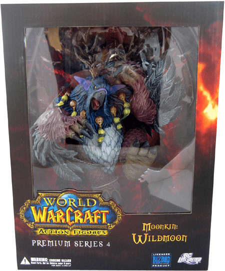 World of Warcraft Premium Series 4 The Moonkin Wildmoon Box Set