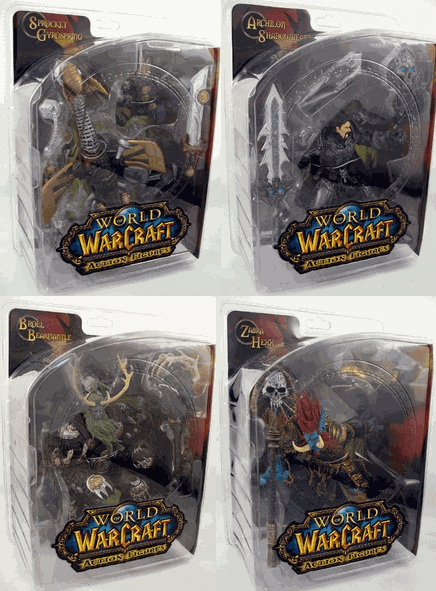 World of Warcraft Series 2 Action Figure Set