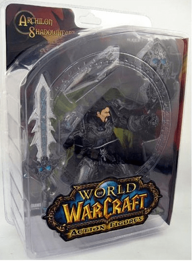 World of Warcraft Series 2 Human Warrior Archilon Shadowheart Figure