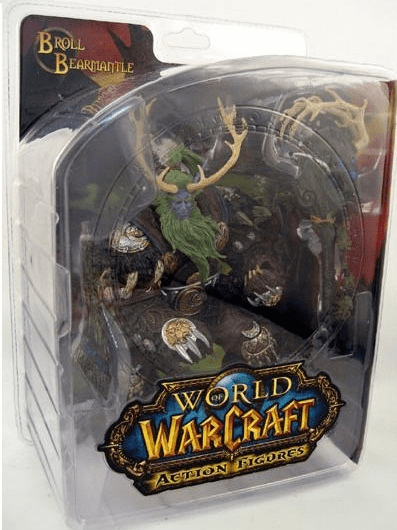 World of Warcraft Series 2 Night Elf Druid Broll Bearmantle Figure