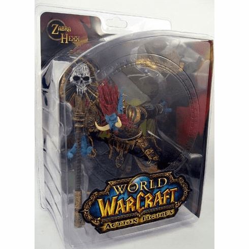 World of Warcraft Series 2 Troll Priest Zabra Hexx Figure