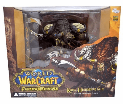 World of Warcraft Series 3 Tauren Hunter Brave Highmountain Figure
