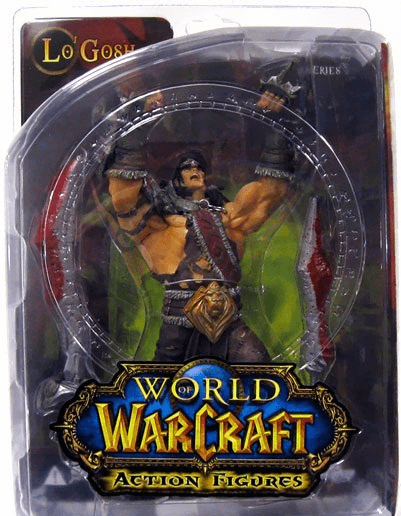 World of Warcraft Series 5 Alliance Hero Lo'Gosh Figure