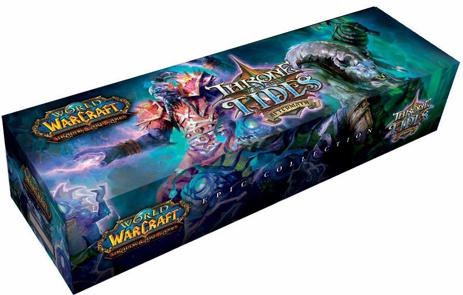 World of Warcraft Throne Of The Tides Aftermath Epic Collection Set