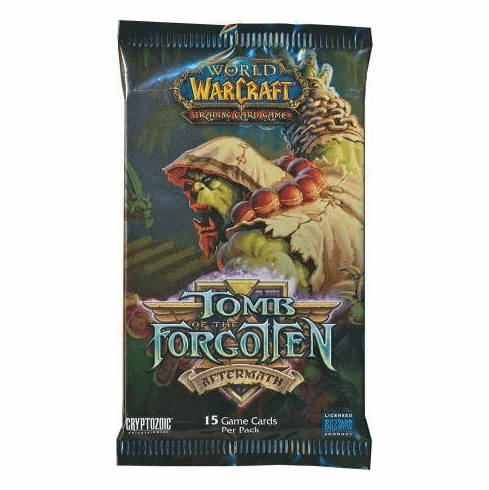 World of Warcraft Tomb of the Forgotten Aftermath Booster Pack