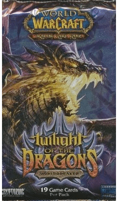 World of Warcraft Twilight of the Dragons Booster Pack
