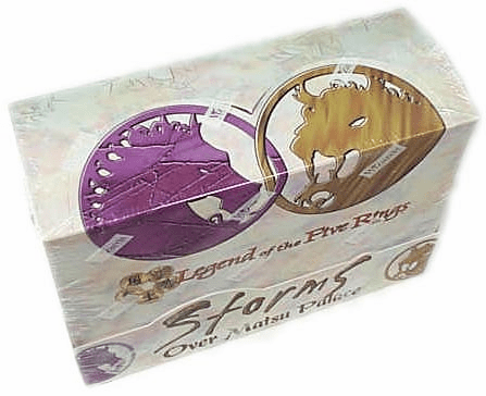 WOTC Legend of the Five Rings Storms Over Matsu Palace Starter Box