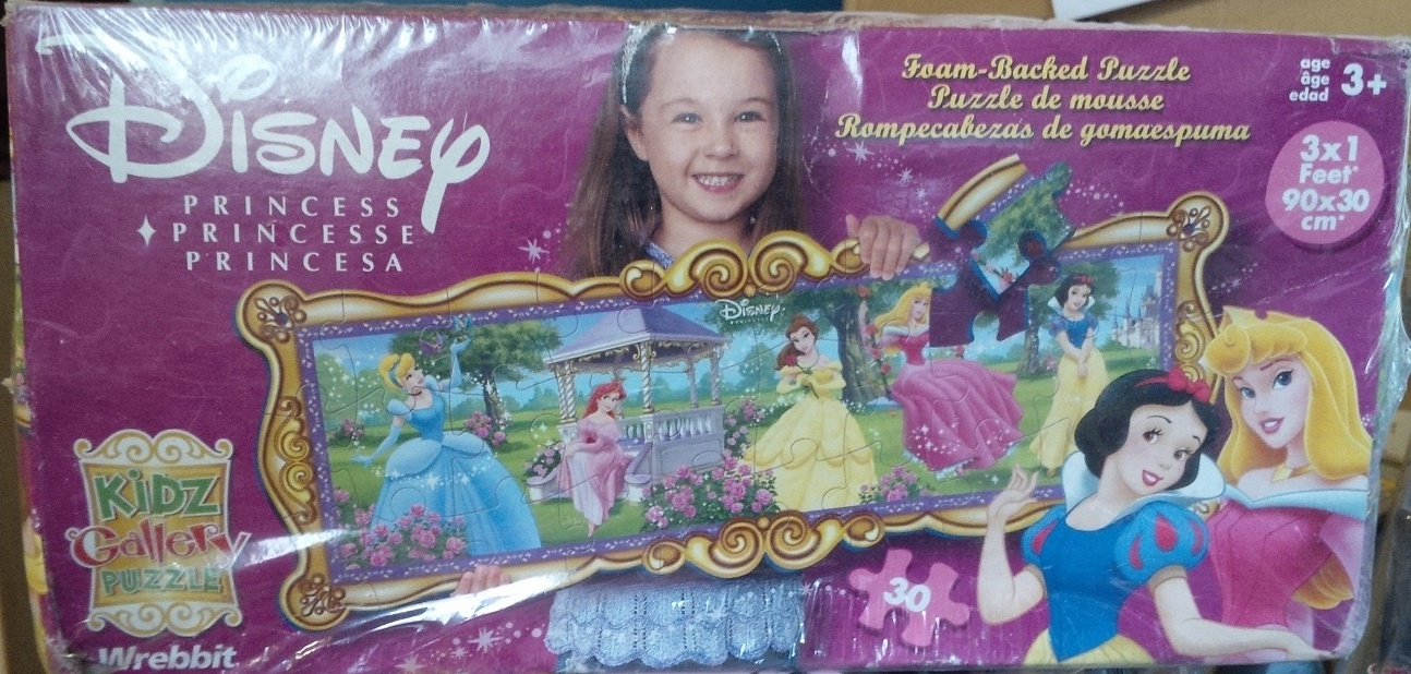 Wrebbit Disney Princess Foam-Backed Puzzle
