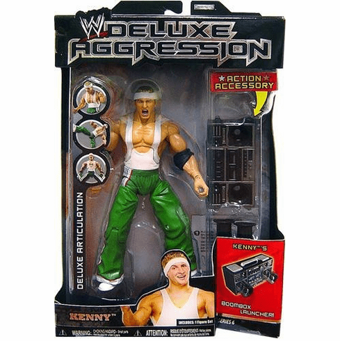 WWE Deluxe Aggression Kenny Action Figure