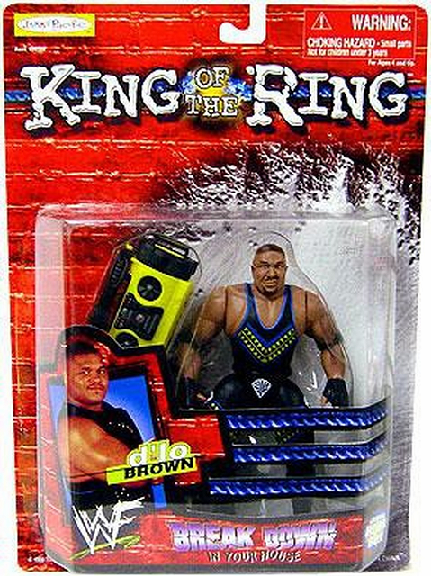 WWE King of the Ring Breakdown in Your House D'lo Brown Figure
