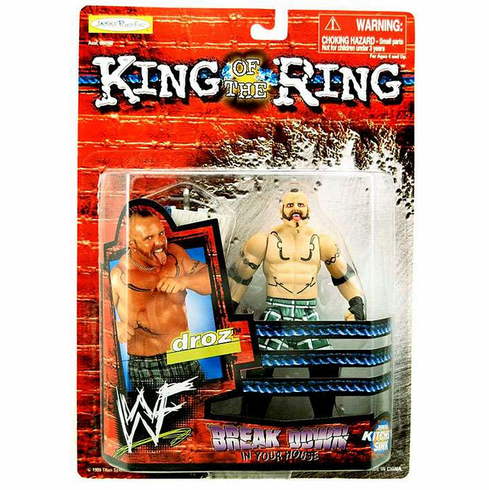 WWE King of the Ring Breakdown in Your House Droz Figure