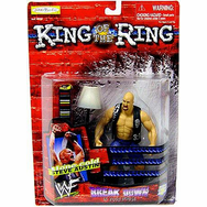 WWE King of the Ring Breakdown in Your House Stone Cold Steve Austin Figure