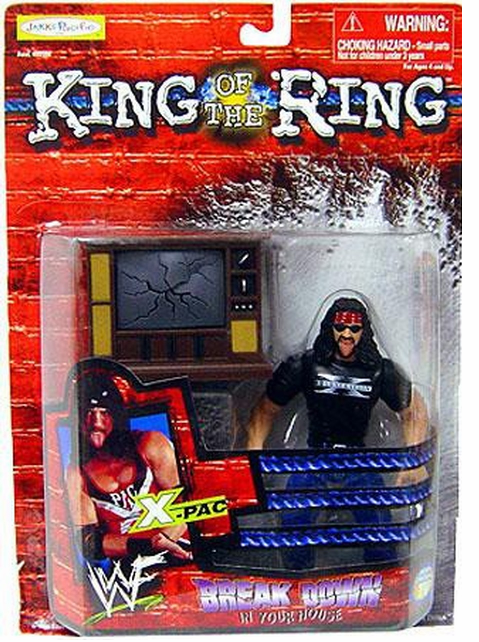 WWE King of the Ring Breakdown in Your House X-Pac Figure