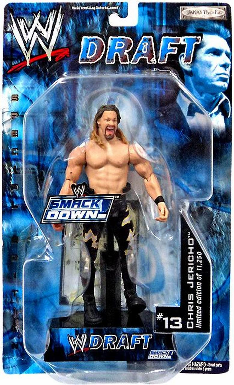 WWE Smackdown Draft Chris Jericho Figure