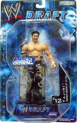 WWE Smackdown Draft Tajiri Figure