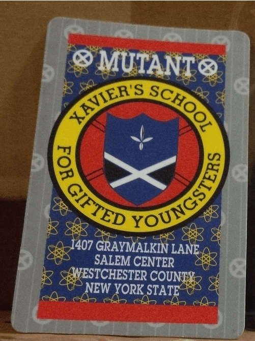 X-Men Mutant Wallet Card