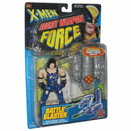 X-Men Secret Weapon Force Battle Blaster Wolverine Figure