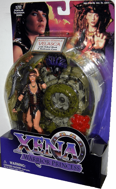 Xena Warrior Princess Velasca Amazon Warrior Action Figure