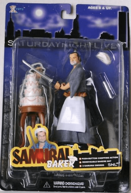 XToys Saturday Night Live Samurai Baker Figure