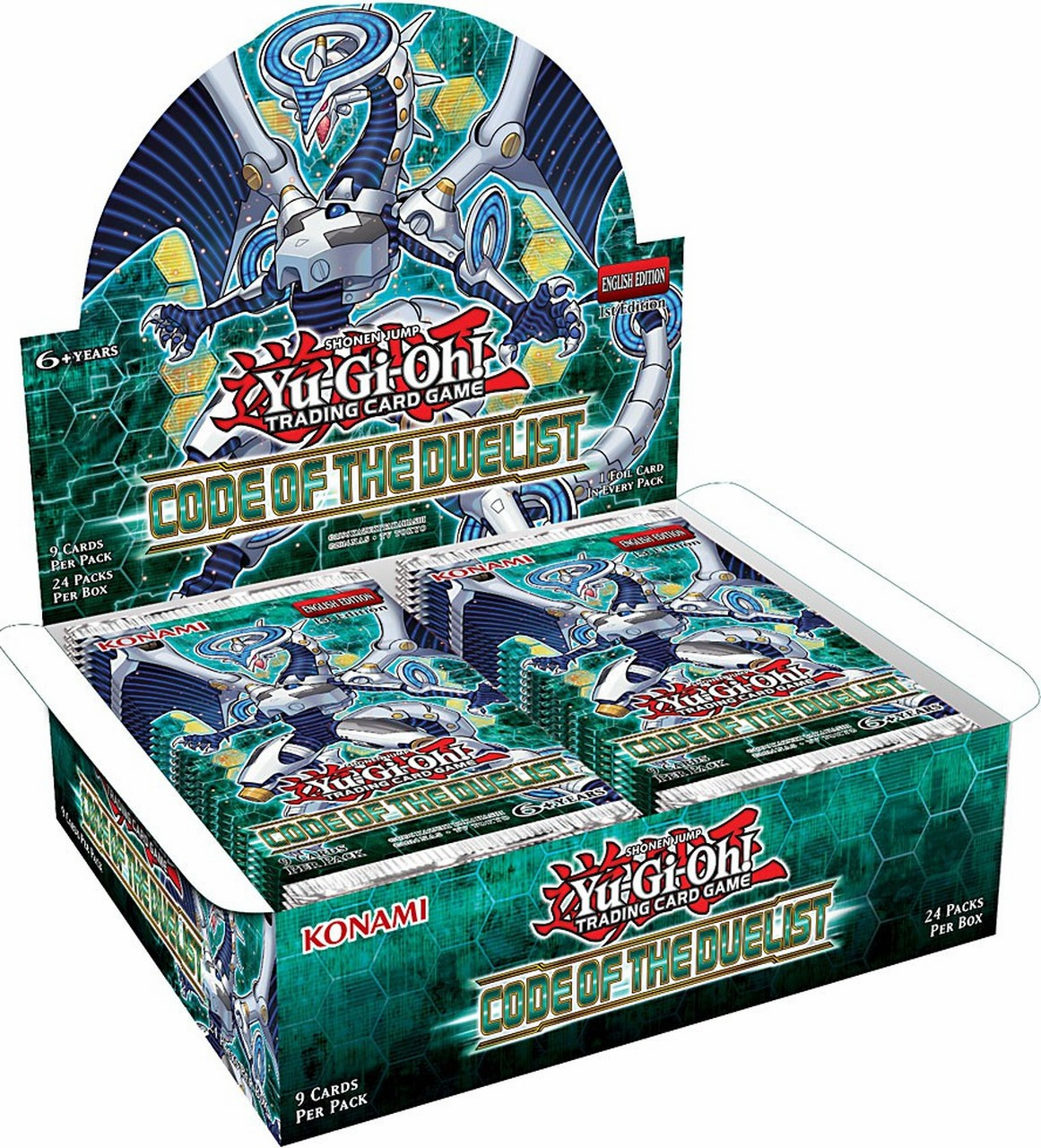 Yu-Gi-Oh Code of the Duelist Sealed Booster Box