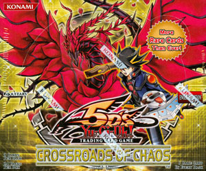 Yu-Gi-Oh Crossroads of Chaos Sealed Booster Box