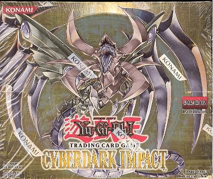 Yu-Gi-Oh Cyberdark Impact Sealed Booster Box