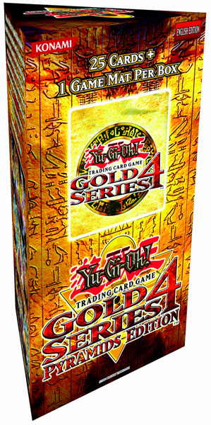 Yu-Gi-Oh Gold Series 4 Pyramids Edition Box