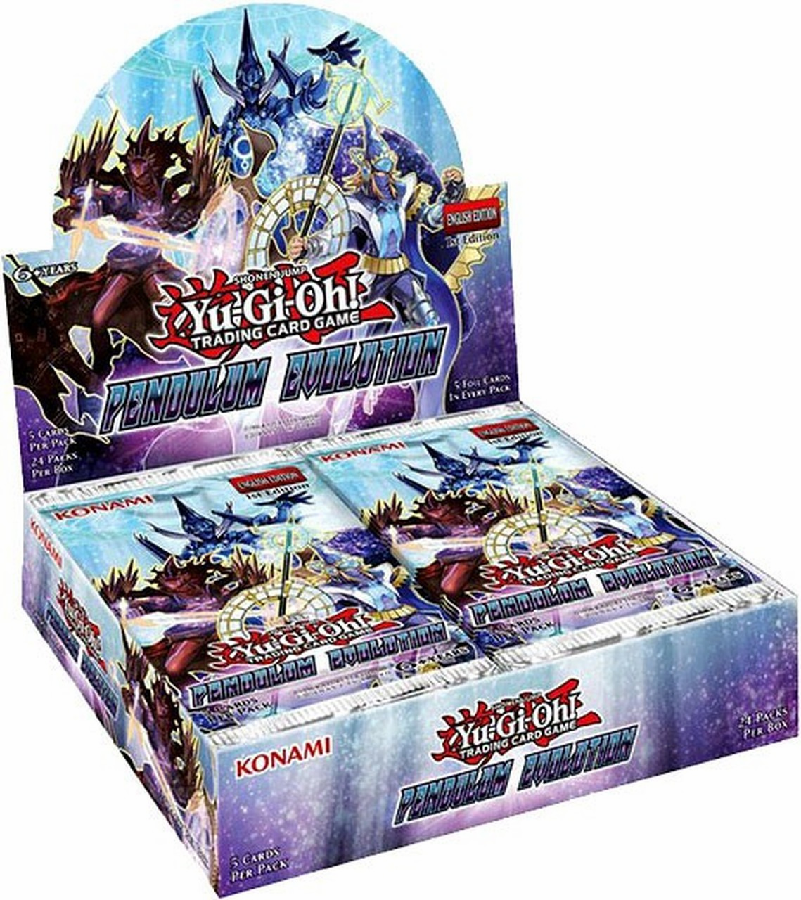 Yu-Gi-Oh Pendulum Evolution Sealed Booster Box