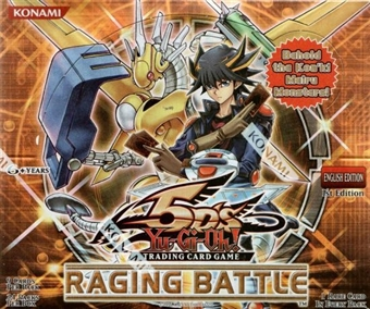 Yu-Gi-Oh Raging Battle Sealed Booster Box