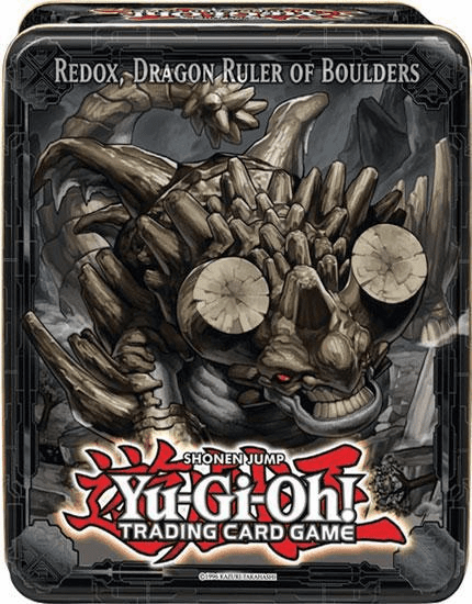 Yu-Gi-Oh! Redox, Dragon Ruler of Boulders Collector Tin