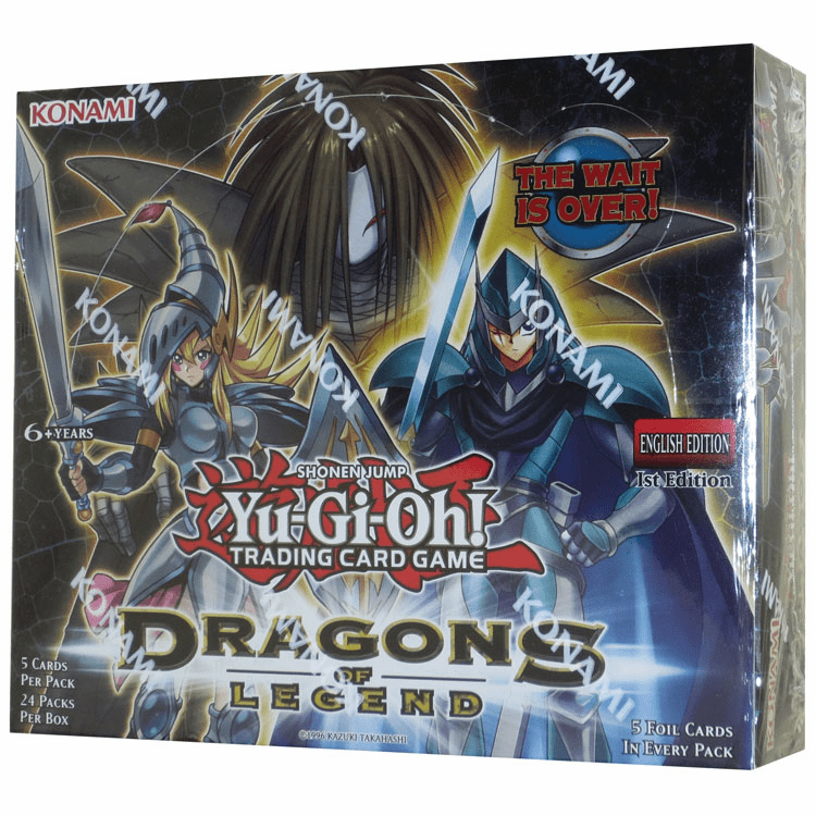 Yugioh Dragons of Legend Sealed Booster Box