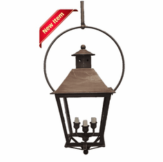 Banford Yoke Mount Metal Top Lantern