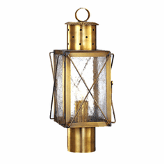 Edgewood Post Mount Outdoor Lantern