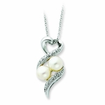 Sharing and Caring Pearl Necklace