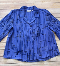 "Habitat ""Cityscape Express"" #32708 Triple Pleat Back Shirt"