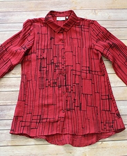 "Habitat ""Cityscape Express"" #32747 Shaped Shirt"