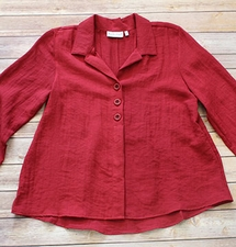 "Habitat ""Express"" #30608 Triple Pleat Back Shirt"