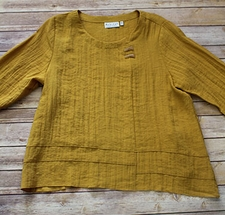 """Habitat """"Express"""" #30607  Side Button Pullover"""