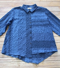"Habitat ""Variegated Stripes"" #63618 Mix Direction Shirt"